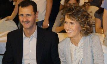 Asma al-Assad, Basharas al Assadas