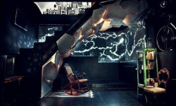 """Požeminė plieno orgija – vietoj rūsio įkurtas biuras <span style=""""color: #ff0000;"""">FOTO</span>"""