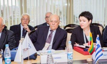 Daina Gudzinevičiūtė EOK generalinėje asamblėjoje Minske