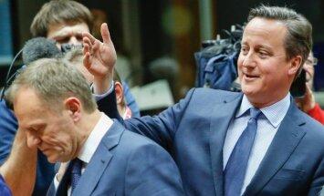 Davidas Cameronas, Donaldas Tuskas