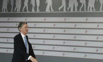 Britų užsienio reikalų ministras Philipas Hammondas