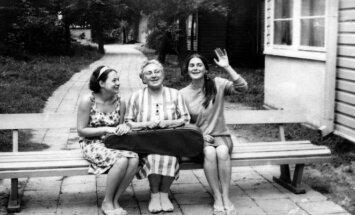 Danutė Pomerancaitė-Mazurkevič, Elena Žalinkevičaitė-Petrauskienė, Aušra Petrauskaitė (XX a. 7 deš.)