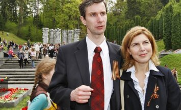 Algirdas Paleckis su žmona Olga