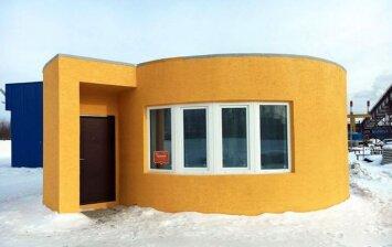 3D spausdintuvu per 24 valandas pagaminamas namas vos už 10 tūkst. eurų