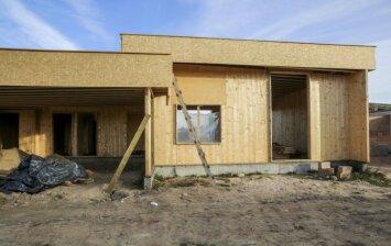 """Medinė statyba: ar šis namas Vilniuje taps naujovių rinkoje pranašu? <span style=""""color: #ff7f00;""""><strong>FOTO</strong></span>"""