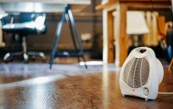 Atmintinė, kaip saugiai naudoti elektrinius šildytuvus