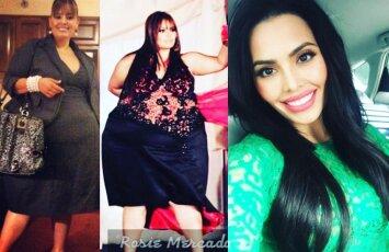 Neįtikėtini pokyčiai: atsikračiusi kone 100 kg mergina tapo modeliu