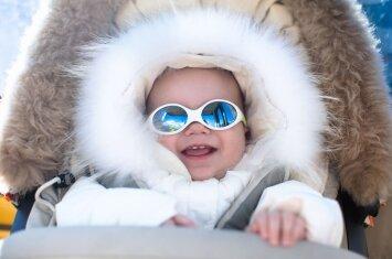Geriausi patarimai: ką daryti, kad šaltis nepakenktų švelniai kūdikio odelei?