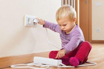 Pasitikrinkite: ar jūsų namai tikrai saugūs vaikui?