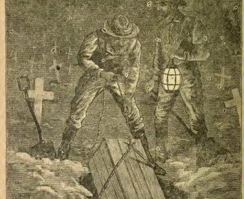 Išsaugoti mirusiuosius po žeme buvo šiurpus XIX a. Amerikos rūpestis