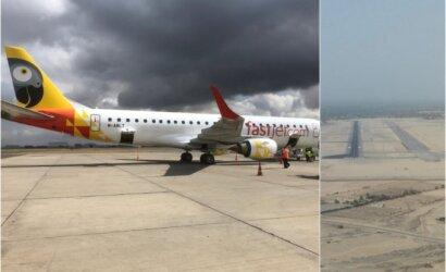 Skrydis į Nairobį: karvės autostradoje, stingdantis Afrikos šaltis ir lėktuvo nutupdymas dviese