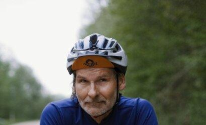 60-metis Valdas savo gyvenimo be dviračio neįsivaizduoja – planuose 550 km paros maratonas