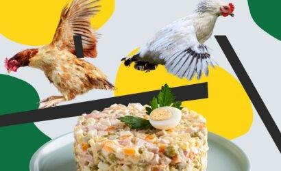 """Kulinarė apie maistą iš prekybos centrų: viskas apie """"plaunamas"""" mišraines ir kodėl reikia rinktis laimingesnių vištų kiaušinius"""
