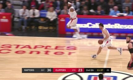 """""""Clippers"""" atgimimą įžiebė tobulą atkarpą sužaidęs serbų burtininkas Teodosičius"""