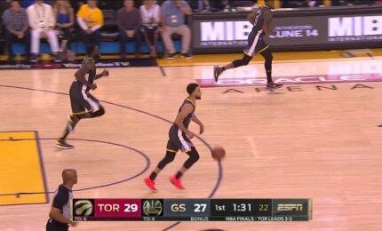 Stepheno Curry pasirodymas paskutinėse NBA rungtynėse