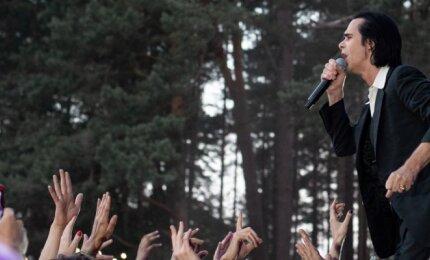 """Nick Cave & The Bad Seeds pasirodymas """"Positivus"""" festivalyje"""