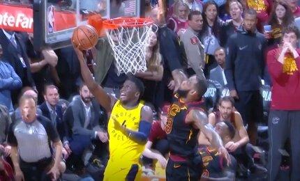 """Įvertinkite patys: ar NBA teisėjai """"apvogė"""" Sabonį ir """"Pacers"""" komandą?"""