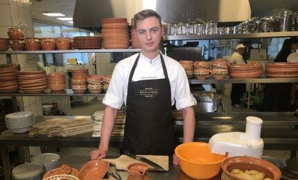Virtuvės šefas Žilvinas Mečkauskas