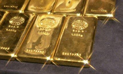 prekyba signalizuoja auksą
