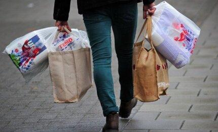Plastikiniai maišai prekėms bus apmokestinti