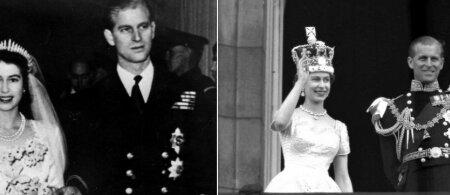 Princo Philipo ir karalienės Elžbietos II meilės istorija: monarchei teko pakovoti dėl svajonių jaunikio