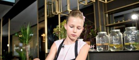 I. Stumbrienės 11-metė dukra Estela jau taupo savo restoranui