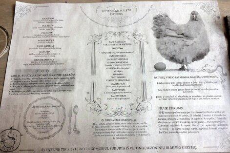 Servetėlės rašo apie lietuvišką maistą