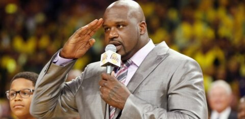 Shaquille'as O'Nealas