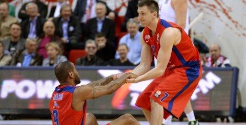 V. Fridzono metimas paskutinę sekundę lėmė CSKA pergalę prieš Bambergo ekipą