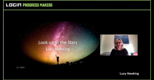 <strong>LOGIN 2020 pagrindinis pranešimas.</strong> Legendinio Stephen Hawking dukra Lucy: Look up at the Stars