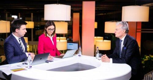 Speciali DELFI prezidento rinkimų laida. Nausėda su Šimonytė – apie tai, kas toliau valdys Lietuvą, o Skvernelis – apie pasiųstą signalą