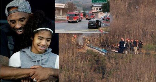 Paaiškėjo daugiau tragedijos detalių: pirmosios nelaimės versijos ir kur su 13-mete dukra skrido Kobe Bryantas?