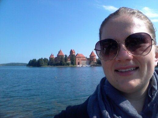 Laura Puteris in Trakai