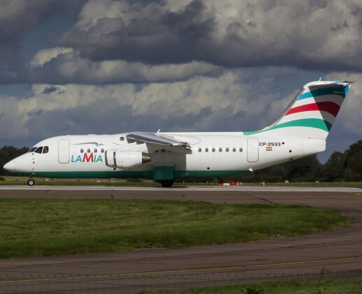 Lėktuvas, kuris sudužo Kolumbijoje