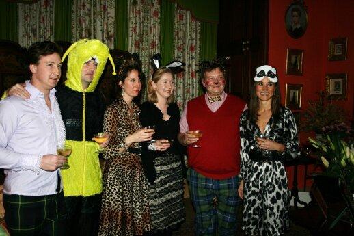 Pippa Middleton prieš keletą metų laukinių išgertuvių vakarėlyje