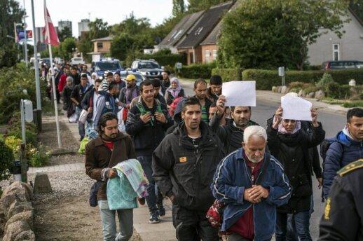 Prakalbo pabėgėlių centre Vokietijoje dirbantis lietuvis: žmonės tai turi žinoti