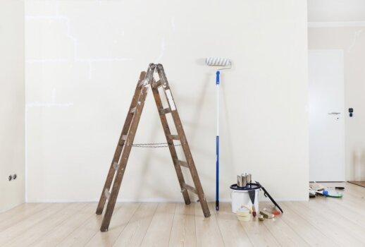 Patarimai, kaip paruošti lubas dažymui
