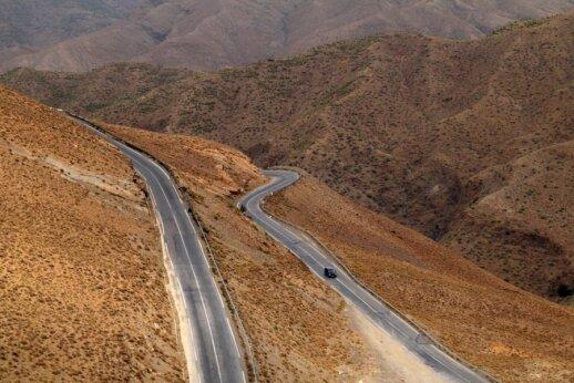 Kelias, jungiantis Marakešą ir Ouarzazatą, Marokas