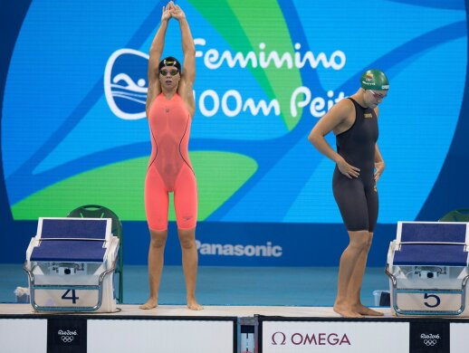 Yuliya Yefimova and Rūta Meilutytė