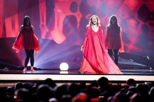San Marino atstovė Valentina Monetta