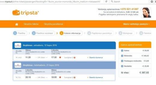 Iš Vilniaus į Šri Lanką į abi puses – už 387 eurus