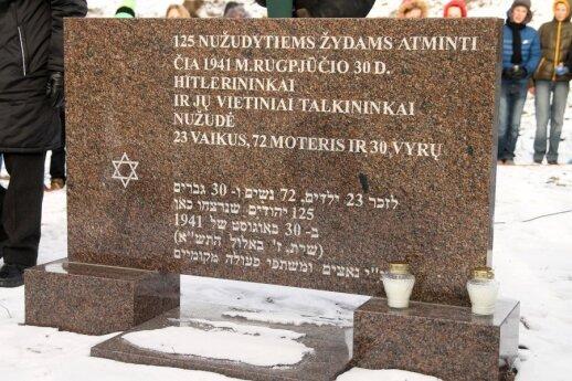 Surinko įrodymus, kaip iš tiesų žudėme žydus: nuo R. Vanagaitės nusisuko giminės ir draugai