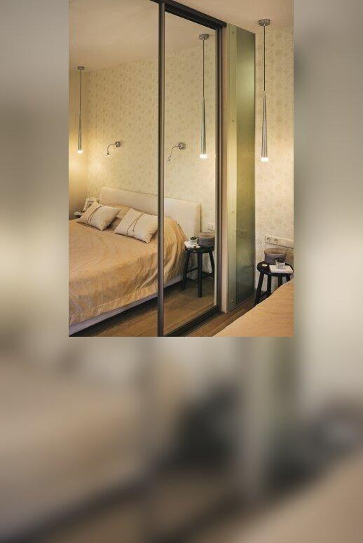60 kv.m. butas Palangoje: proporcijų ir detalių dermė