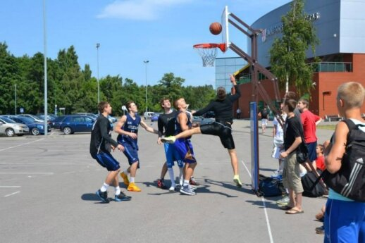 Pasaulio lietuvių sporto žaidynių gatvės krepšinio varžybos