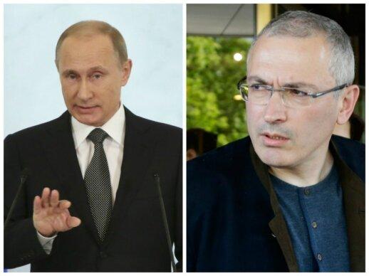 Vladimiras Putinas, Michailas Chodorkovskis