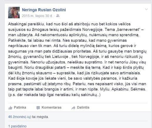 Norvegijos skandalų pūtėja: tikroji emigrantės iš Molėtų istorija