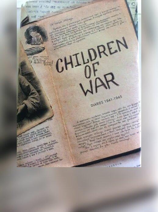 """Knyga """"Karo vaikai. 1941 - 1945 dienoraščiai"""""""