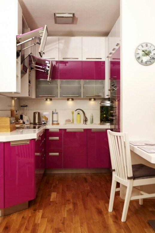 Nedidukės virtuvės dizaino idėjos