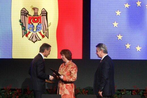 Iurie Leanca, Catherine Ashton
