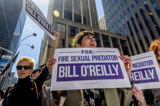 """Seksualinio priekabiavimo skandalas JAV: televizija """"Fox"""" atleidžia didžiausią žvaigždę"""
